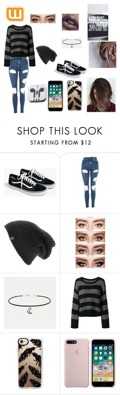 """""""Gender fluid style #11"""" by create-clothes-genderfluid ❤ liked on Polyvore featuring J.Crew, Topshop, The North Face, RtA and Casetify"""