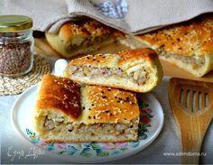 Постный картофельный пирог с гречкой Воздушный пирог на отварном картофеле с аппетитной постной начинкой. Хорош в теплом и в холодном виде. Подавайте с овощами на гриле или свежим весенним салатом. По данному рецепту можно приготовить и небольшие постные пирожки с разными начинками. #готовимдома #едимдома #кулинария #домашняяеда #картофельный #постный #пирог #гречка #начинки #пирожки #выпечка #постная #великийпост