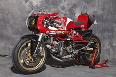 Radical! Ducati Pantah 600 Cafe Racer by XTR Pepo  #motorcycles #caferacer #motos | caferacerpasion.com