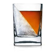 A Whiskey Wedge Glass, $14.95
