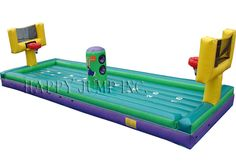 Football Basketball Bungee: Moonwalks   Inflatable Water Slides   Bounce House   Inflatable Bouncers, Water Slides by Happy Jump