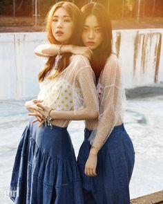 2014.05, Vogue Girl, Kim Jin Kyung, Hwang Se On