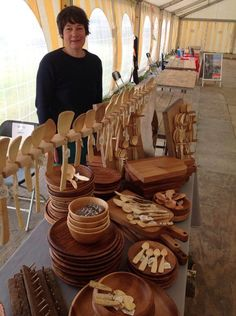 My stall at the 'Really wild food festival'