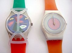 Everyone who was anyone had a Swatch. And if you were extra cool, it had a swatch guard on it. Remember the bands would eventually turn green? My mom SWORE by these! School Memories, My Childhood Memories, Childhood Toys, Great Memories, Ol Days, My Memory, The Good Old Days, Back In The Day, The Best