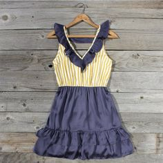 Cotton Field Dress, Sweet Women's Country Clothing