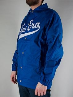 NEW ERA CAPS NE SCRIPT COACH JACKET Giacca - royal € 90,00 - See more at: http://www.moveshop.it/ecommerce/index.php/it/articolo/63764/9678/NE%20SCRIPT%20COACH%20JACKET#sthash.1O57Qc7m.dpuf