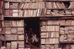 Bookstore in Calcutta, India