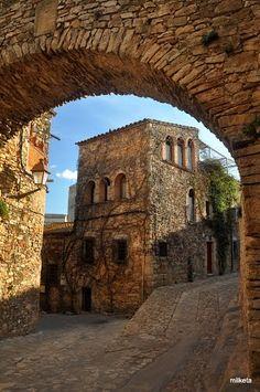 Peratallada  Girona Catalonia