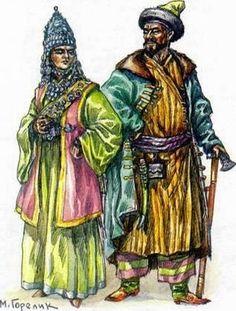 Kazan Tatarları - Казан татарлары (Tataristan - Татарстан) - Türk Asya - Bilig Bitig, Asian Turkish, Тюрки России