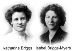 I didn't know the Meyer Briggs were women !!!