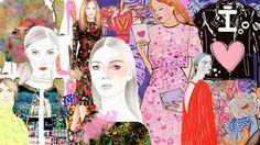 De la moda y otros demonios.: Ilustración de moda made in Colombia