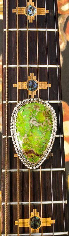 Seabed Jasper Bolo Tie,set in .999 Fine Silver