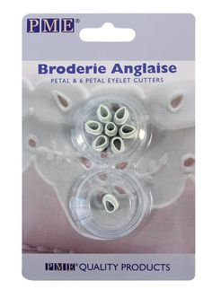 PME 6-Petal Eyelet Cutters, 2-Pack -- Discover this special product, click the image : Baking Accessories