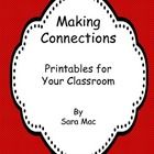Making meaningful connections while reading is difficult for most students, but is an important comprehension skill to master. This packet contains...