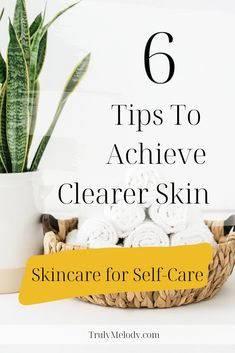Find out the 6 things that could be missing from your skincare routine to achieve clearer skin. Check it out now!  #ClearSkin #Skincare #SkincareRoutine #SkincareTips #Acne #AcneProneSkin #ClearUpAcne #SkincareforAcne #Selfcare #Selflove #HappierLife #Confidence #Happiness Self Care Routine, Acne Prone Skin, Skincare Routine, Clear Skin, How To Relieve Stress, Skin Care Tips, Self Love, Confidence, Happiness