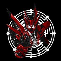 Dark Warrior, Marvel Entertainment, Kamen Rider, Power Rangers, Avengers, Anime, Darth Vader, Hero, Animation