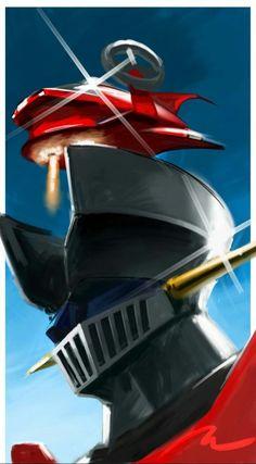 Koji Kabuto, Ufo, Robot Cartoon, Big Robots, Japanese Robot, Japanese Superheroes, Vintage Robots, Gundam Wallpapers, Mecha Anime