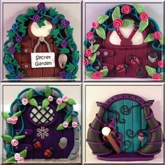 How to make polymer clay fairy doors http://leahg.me/how-to-make-fairy-doors-for-gifts-from-polymer-clay/