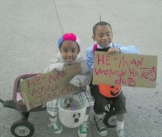 My homemade costumes for the boys this year. :-) The Little Rascals' Spanky & Alfalfa!