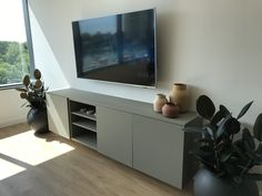 Ikea Besta Hack for Credenza – Home Office Design On A Budget Danish Chair, Danish Furniture, Workplace Design, Home Office Design, Ikea Hack Besta, Kitchen On A Budget, Common Area, Commercial Interiors, White Walls