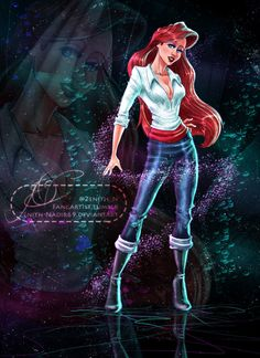 Ariel: outfit swap