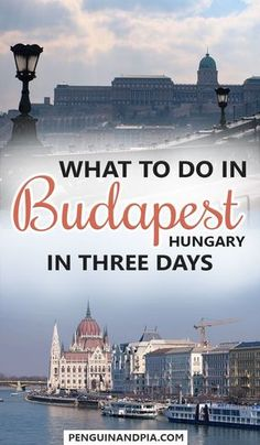 Things to do in Budapest, Hungary, in 3 Days. From incredible food and cafes to the thermal baths and the beautiful castle, there is something for everyone. Keep reading for great Budapest Tips! #budapest #hungary #europetravel #traveltips #thermalbaths #hungarianfood