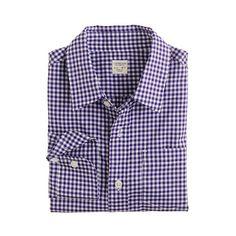 Boys' point-collar dress shirt