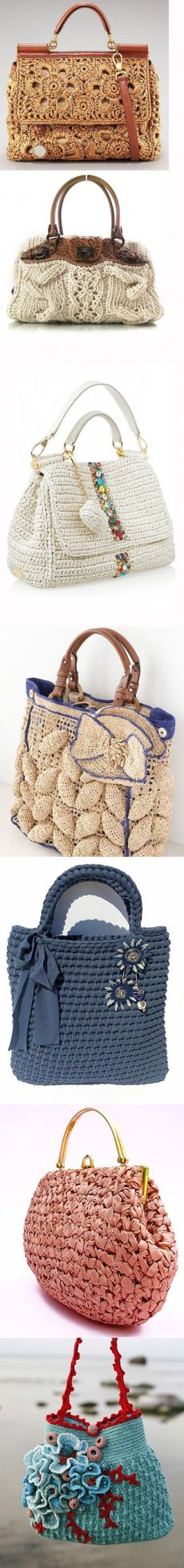 Вязаные сумки...♥ Deniz ♥