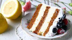 Sitruunamousse kakun väliin - Suklaapossu Vanilla Cake, Tiramisu, Baking, Ethnic Recipes, Sweet, Desserts, Food, Candy, Tailgate Desserts
