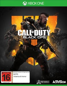 Call of Duty: Black Ops 4 (stylized as Call of Duty: Black Ops IIII) is a multiplayer first-person shooter. Black Ops 4 is the principal Call of Duty title without a customary single-player battle mode Ps4, Playstation, Call Of Duty Black Ops, Black Ops 3, Cartoon Network, Xbox One, Le Sniper, Instant Gaming, Nintendo
