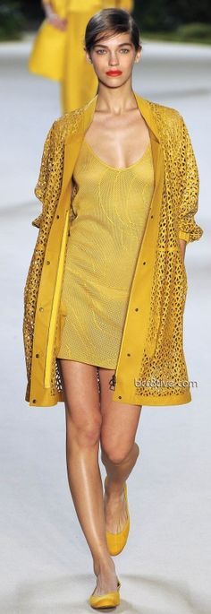 yellow fashion by msochic♥✤ | Keep the Glamour | BeStayBeautiful