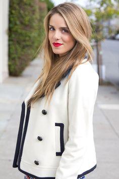 Her blazer