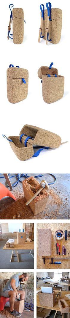 cork bag: