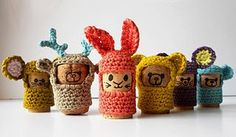 2000 Free Amigurumi Patterns: Ptits Bouchons. Pattern in French. FP 1/15.