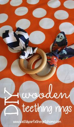DIY Wooden Teething Ring - Wait Til Your Father Gets Home