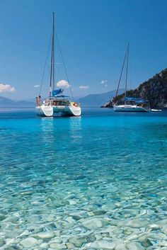 Top Luxury Blue Cruise Charters with Boat & Yacht in Italy and France on Gulet Victoria & Alissa, come live the dream & make memories in Sardinia & Corsica. Catamaran Design, Sailing Catamaran, Sailing Trips, Places To Travel, Places To Visit, Travel Destinations, Sailing Holidays, Set Sail, Water Crafts