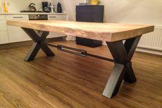 Eiken tafels en binnen inrichting – V&S Authentiek Bouwen