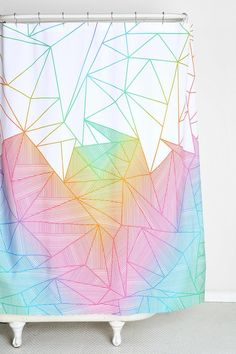 Fimbis For DENY Billy Rays Shower Curtain #urbanoutfitters