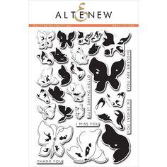Altenew PAINTED BUTTERFLIES Clear Stamp Set AN132