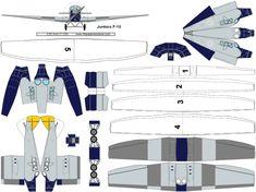 free paper aircraft models