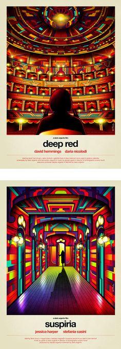 Dario Argento Collection ©Van Orton Design on Behance