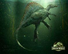 Spinosaurus by MANUSAURIO on DeviantArt | Jurassic World