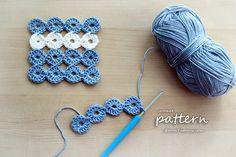 New Crochet Pattern – Joy Joy Coasters