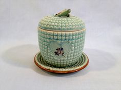 Vintage Bee Hive Honey Pot. $20.00, via Etsy.
