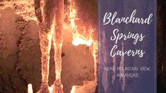 Blanchard Springs Caverns is perfect for a hot summer day activity. Cool off in one of the cavern tours or enjoy biking paths, and other nearby activities. Rv Travel, Travel Destinations, Blanchard Springs, Arkansas, Spring Break, Places To Visit, Spaces, Usa, Natural