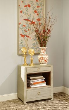 Bungalow 5| Ming 2-Drawer Side Table, Natural