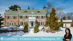 You can own a piece of history with this captivating Huntington estate on 2 acres.  #ChesterHills #Huntington #LIRealtor #DouglasElliman