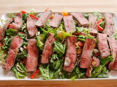 Grilled Beef Salad recipe from Ree Drummond via Food Network