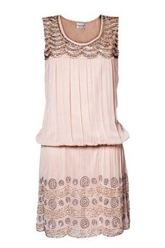 Pink 20's style summer dress