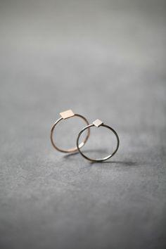 Make it Copenhagen - love these simple rings